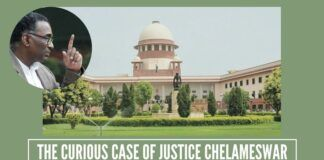 The curious case of Justice Chelameswar