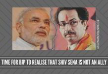 Time for BJP to realise that Shiv Sena is not an ally