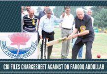 CBI files chargesheet against Dr Farooq Abdullah in multi crore cricket scam in J&K