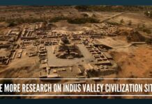 he more research on Indus Valley Civilization sites, the more it is disproving the Aryan invasion theory – here is fresh proof