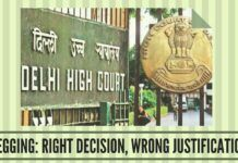 Begging Right decision, wrong justification