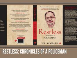 Book Review: Restless: Chronicles of a Policeman by V.R. Sampath