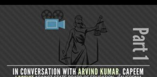 What is the reason behind CAPEEM suing the California State Board of Education? What are the issues at stake? A conversation with Arvind Kumar of CAPEEM