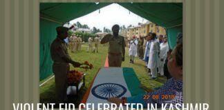 Violent Eid celebrated in Kashmir