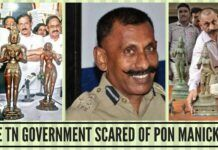 Is TN the Government scared of Pon Manickavel
