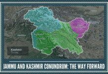 Jammu and Kashmir Conundrum - The way forward