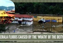 Kerala floods caused by the 'wrath' of the deity?