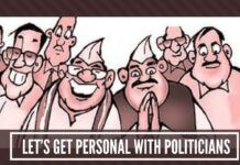 Let's get personal with politicians