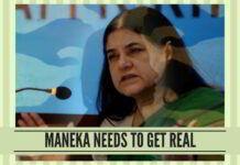 Maneka Gandhi needs to get real