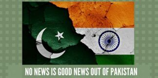No News is good News out of Pakistan