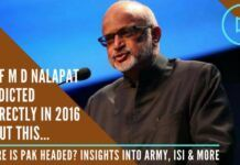 Prof Nalapat proven true yet again Where does Pak go from here a conversation