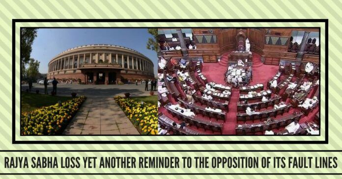 Rajya Sabha loss yet another reminder to the Opposition of its fault lines