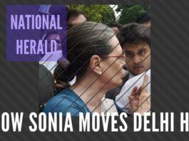 It is now the turn of Sonia Gandhi to face the music for hushing up the Directorship in YI and Rs.154 crores income