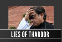 Shashi Tharoor is shuttling between Germany and Geneva giving specious reasons, while his state and his constituency suffer from floods
