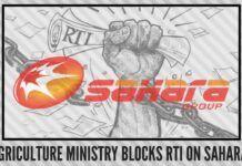 Agriculture Ministry blocks RTI on Sahara entities