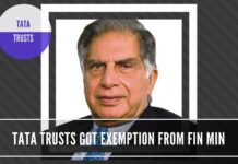 "Another questionable decision by the Finance Ministry in allowing Tax exemption to Tata Trusts for an ""endowment"" to Cornell, Harvard"