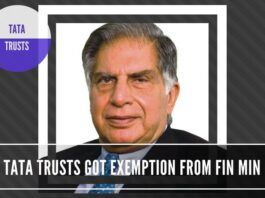 """Another questionable decision by the Finance Ministry in allowing Tax exemption to Tata Trusts for an """"endowment"""" to Cornell, Harvard"""
