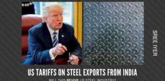 With the US announcing sanctions on various exporters of steel, will the indigenous steel industry pick up the slack?