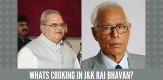 Whats cooking in J&K Raj Bhavan?