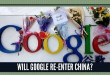 Will Google re-enter China