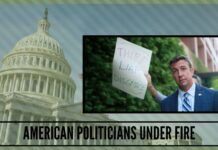 American politicians under fire