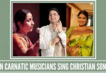 Can Carnatic musicians sing Christian songs set to Carnatic music?