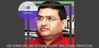 In the Special Director Asthana complaint to the CVC about the Director of CBI, the CBI slams Asthana and his motives in a press release