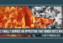 Has the realisation finally dawned on Opposition that Hindu votes matter?