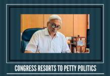 Why is the Congress actually creating such a fuss?