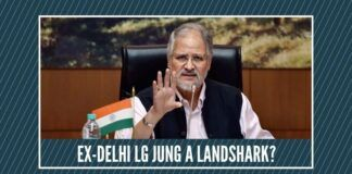 Former Delhi Lieutenant Governor Najeeb Jung was allegedly in possession of illegal properties.