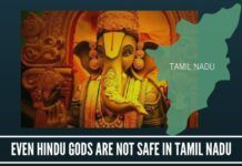 Even Hindu Gods are not Safe in Tamil Nadu