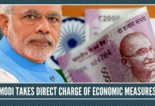 Modi takes direct charge of economic measures