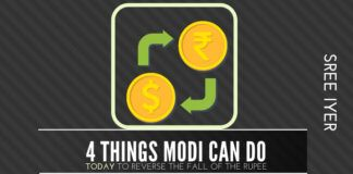 4 urgent steps that Modi must take to arrest the fall of the Rupee