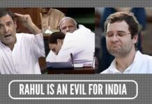 Rahul is an evil for india