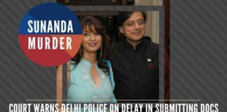 Are Shashi Tharoor's friends from Lutyens Delhi putting pressure on Delhi Police from doing their work in the Sunanda murder case?