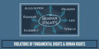 Violations of Fundamental Rights & Human Rights(