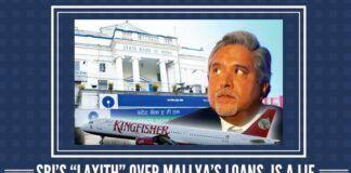 """SBI's """"LAXITY"""" Over Mallya's Loans is a Lie"""