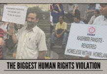 By 'delisting' around 1 lakh voters, the government is committing the biggest human rights violation.
