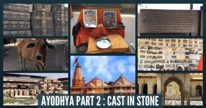 "Ayodhya means ""the place that was never conquered"" or ""the enemy cannot win"" depending on the interpreter."