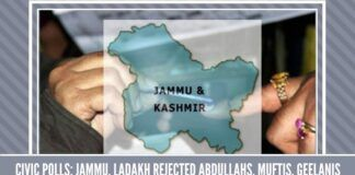 Civic Polls: Jammu, Ladakh rejected Abdullahs, Muftis, Geelanis