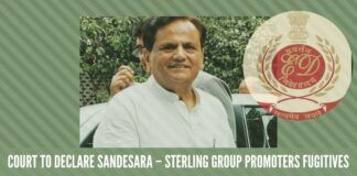 Ahmed Patel supporter Sandesara Group declared as fugitives by ED