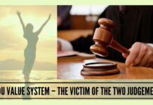 It is regretful that the judiciary is not standing up as a custodian of these values