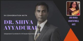 In conversation with Dr Shiva Ayyadurai independent candidate for Senate from Massachussets