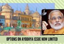 Options on Ayodhya issue now limited, Modi regime must consider Ordinance