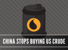 The trade war betwee the two largest economies took an interesting turn with China dumping the US for its crude needs