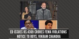 More NDTV frauds - Chidambaram bypassed CCEA while approving FDI over Rs.600 crores and a link to Aircel-Maxis scam
