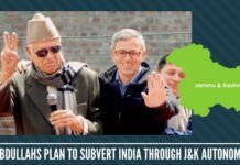 Abdullahs plan to subvert India through J&K autonomy