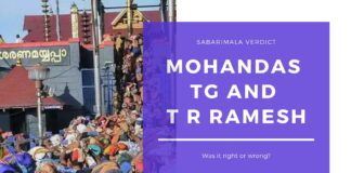 Two veteran Sanatanis who are also well versed in the law discuss the Sabarimala verdict of the Supreme Court. A must watch video, as it captures the entire context from both angles