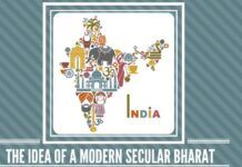 The idea of a Modern Secular Bharat