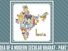 The idea of a Modern Secular Bharat